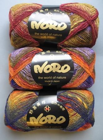 Kureyon sock yarn