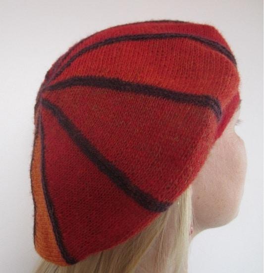 Spalvota beretė
