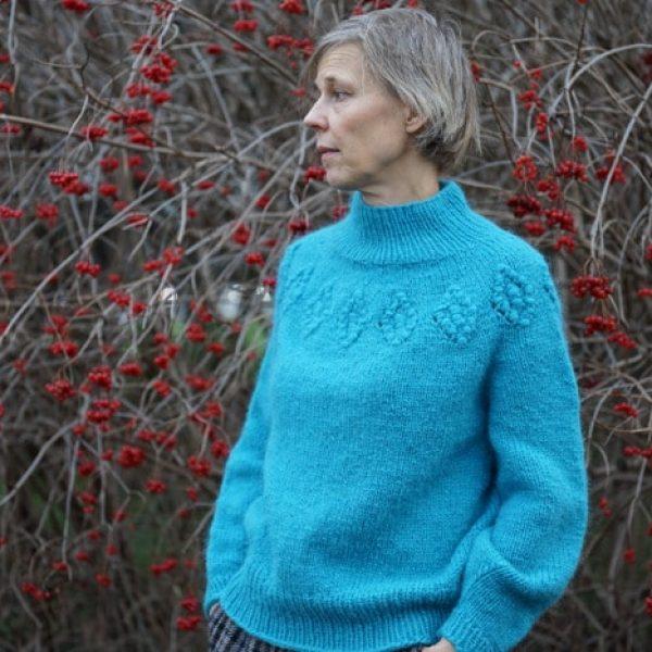 Macrame sweater