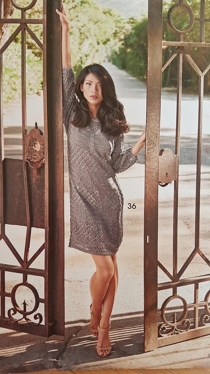 Modelio iš žurnalo foto