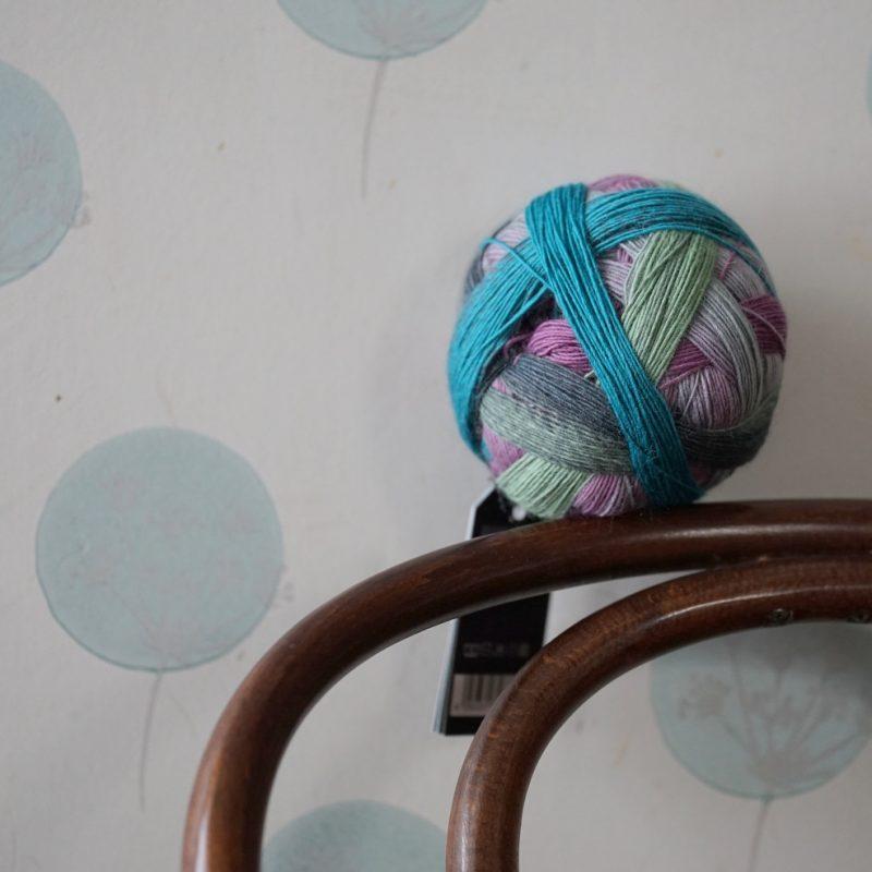 Spalvotų kojinių šaknys